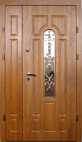 Вхідні двері ТМ «Lvivski New» серія «Optima NEW» Ковка №2(1200)