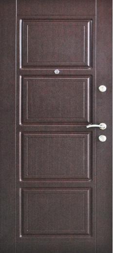 Двері вхідні ТМ «Lvivski Polimer» серія «Optima New » модель 5 960х2050
