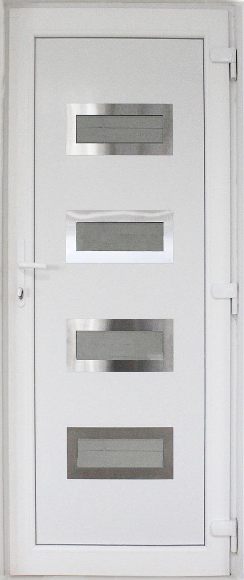 Металопластикові двері мод 2