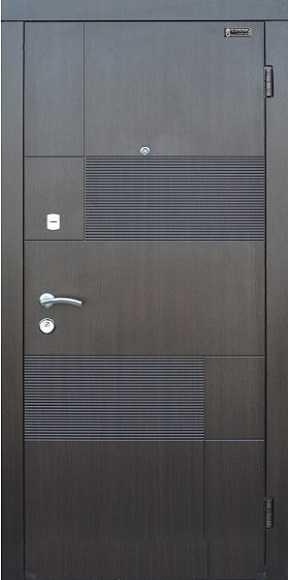 Вхідні двері ТМ «Lvivski New» серія «Optima LUX»LV-216(860)